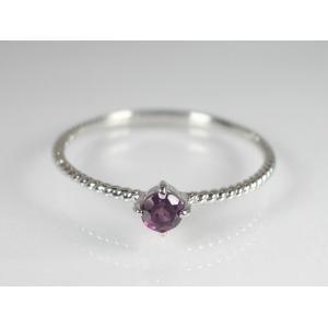 2020最新のスタイル K10WGロードライトガーネットリング DR5507ad 7号(き) 深い紫色の石が表現する、大人の女の可愛らしさ DR5507ad。, オオワニマチ:08dc6f39 --- mashyaneh.org