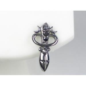 再再販! K14WGブラックダイヤメンズピアス 0.03CT NVP10371(き) 0.03CT 吸い込まれそうな輝きのブラックダイヤ。, 【高知インター店】:46c2b545 --- frmksale.biz