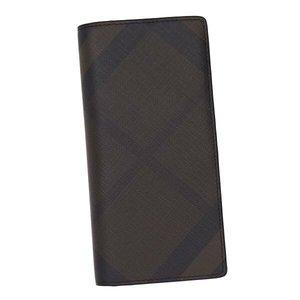 人気 バーバリー BURBERRY 長財布 長札 3996180 CAVENDISH CHOCOLATE/BLACK DB【送料無料】, 低価格で大人気の dc696a3d