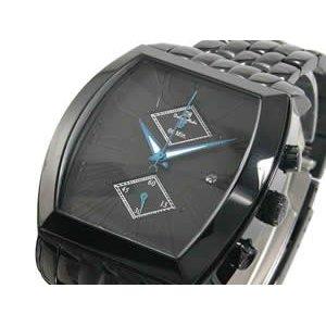 激安人気新品 ドルチェ メディオ Dolce Medio 腕時計 クロノグラフ DM8007-IPBK【送料無料】, W.H.E 8e5aa7ba