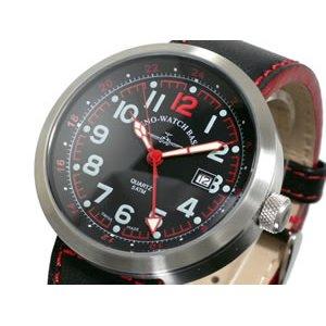ー品販売  ZENO ゼノ 腕時計 ZENO メンズ スイス製 ゼノ B554Q-SV-RD-LE【送料無料】【送料無料 スイス製】, NEWING:6f43d3f7 --- pyme.pe