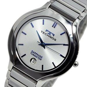 高価値セリー テクノス TECHNOS クオーツ メンズ メンズ タングステン 腕時計 腕時計 クオーツ 時計 T9351CS シルバー【ラッピング無料】, ザマミソン:df2453a1 --- swiftkartz.lk