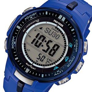 人気ショップ カシオ CASIO タフソーラー プロトレック 電波 タフソーラー メンズ メンズ 腕時計 PRW-3000-2B CASIO ブルー【送料無料】【送料無料】【ラッピング無料】, インテリアのゲキカグ:357ff0c3 --- lbmg.org