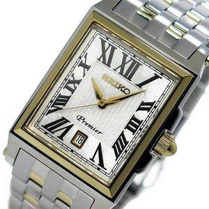 【お気に入り】 セイコー プルミエ Premier クオーツ SKK718P1 メンズ 腕時計 プルミエ SKK718P1 ホワイト/ゴールド セイコー【送料無料】【送料無料】【ラッピング無料】, イオンバイク:2a8e0fed --- bestbikeshots.de