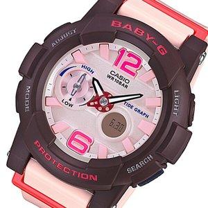 新作商品 カシオ CASIO ベビーG Gライド レディース 腕時計 BGA-180-4B4JF ピンク 国内正規【送料無料】, ザオー 533196e0