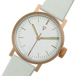 低価格の ピーオーエス POS ヴォイド V03P CO/GY/WH クオーツ 腕時計 VID020057 ホワイト【送料無料】, カミマシキグン 6633fe1c