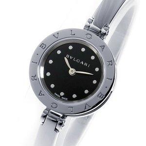 激安本物 ブルガリ BVLGARI クオーツ レディース 腕時計 BZ23BSS.M ブラック【送料無料】, ユウフツグン 88633c42