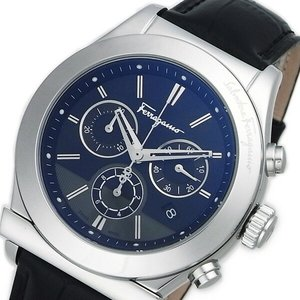 超格安価格 サルヴァトーレ フェラガモ 1898 クロノ クオーツ メンズ 腕時計 F78LCQ9909SB09【送料無料】, 久米南町 7f3bbfaf