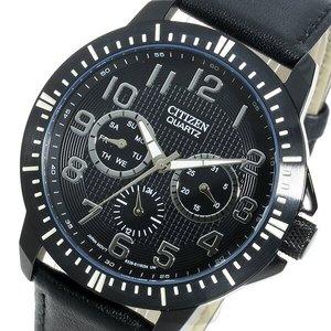 超格安価格 シチズン CITIZEN クオーツ メンズ 腕時計 時計 AG8315-04E ブラック, unfil9(アンフィルナイン) 3e02209c