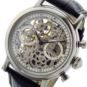 新しい アルカ フトゥーラ ARCA FUTURA 手巻き クロノ メンズ 腕時計 CW3002BK スケルトン【送料無料】, ヘッドドレス専門店 Sorawa shop 17ca0734