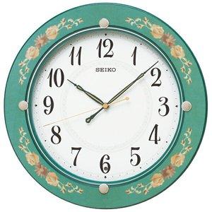 値段が激安 セイコー SEIKO スタンダード 掛け時計 KX220M ホワイト【送料無料】, 郡家町 da9ac542