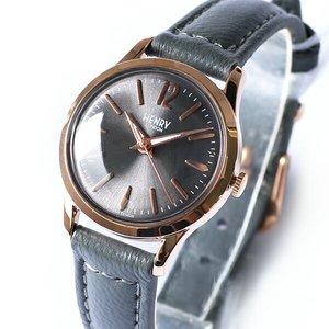 【1着でも送料無料】 ヘンリーロンドン HENRY LONDON フィンチリー 25mm レディース 腕時計 HL25-S-0194 グレー/グレー【送料無料】, 姫島村 7f9946c2