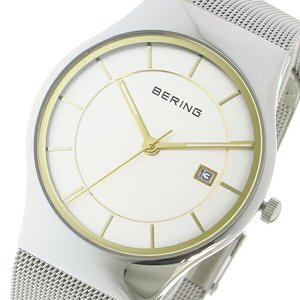 バーゲンで ベーリング BERING クオーツ メンズ BERING 腕時計 11938-001 シルバー メンズ/ゴールド【送料無料 クオーツ】【送料無料】【ラッピング無料】, イトシマグン:e0a2e2a2 --- ancestralgrill.eu.org