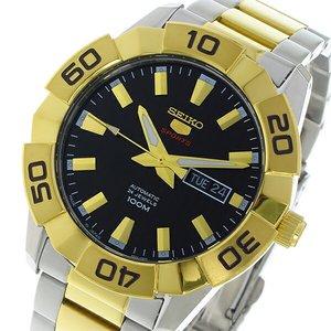 100%安い セイコー SEIKO セイコー5 スポーツ SPORTS 自動巻き メンズ 腕時計 SRPA56J1 ブラック【送料無料】, ヒサヤママチ 9928346e