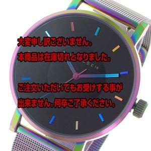 【美品】 クラス14 KLASSE14 ヴォラーレ Volare レインボー 42mm ユニセックス 腕時計 V015TI002M ブラック/レインボー【送料無料】, CHOICE 033d9ace