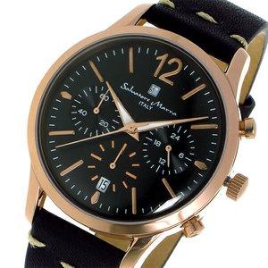 流行 サルバトーレマーラ クオーツ ユニセックス 腕時計 時計 SM17110-PGBK 時計 ユニセックス ブラック/ピンクゴールド【ラッピング無料 SM17110-PGBK】, 振袖専科「みなほ」:ab188b7d --- frmksale.biz