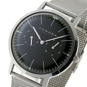 【通販激安】 トモラ TOMORA TOKYO クオーツ メンズ TOMORA TOKYO 腕時計 腕時計 T-1603-BK ブラック【ラッピング無料】, 輸入品屋さん:1457b646 --- akadmusic.ir