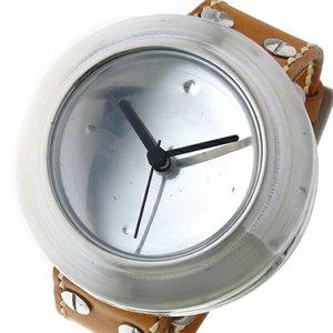 フジオカシ アルケミスト ALCHEMIST カンウォッチ CAN WATCH クオーツ 腕時計 CANWATCHL-HBR シルバー/ハニーブラウン, 置戸町 9ff155f3