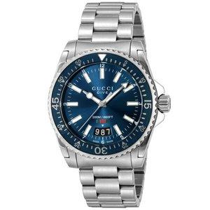 最低価格の グッチ GUCCI DIVE メンズ 腕時計 クオーツ メンズ 腕時計 グッチ YA136311 ブルー【送料無料】【送料無料】【ラッピング無料】, ユーロダイレクト:c61224a7 --- 888tattoo.eu.org