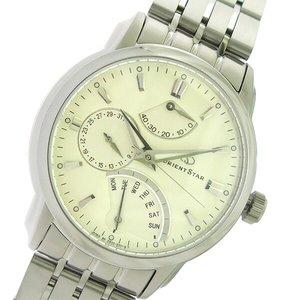 特価商品  オリエント ORIENT オリエントスター Orient Star 自動巻き メンズ メンズ 腕時計 Star ORIENT DE00002W0 アイボリー/シルバー【送料無料】【送料無料】【ラッピング無料】, 開放倉庫:c1b8c8b4 --- abizad.eu.org