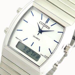 超特価SALE開催! シチズン CITIZEN 腕時計 時計 メンズ レディース JM0540-51A クォーツ ホワイト シルバー, イチシグン a8c1b534