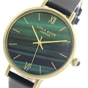 【通販 人気】 ローラローズ LOLA ROSE レディース マラカイト Malachite クオーツ 時計 LOLA レディース 腕時計 時計 LR2016 グリーン/ブラック【ラッピング無料】, エキサイティングショップ:d6a6027e --- ancestralgrill.eu.org