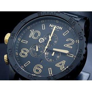 最先端 ニクソン A083-1041 MATTE NIXON 腕時計 CHRONO 51-30 CHRONO A083-1041 MATTE BLACK GOLD【送料無料】【送料無料】, クラヨシシ:e28722c6 --- fukuoka-heisei.gr.jp