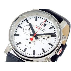 新しいコレクション モンディーン MONDAINE MONDAINE クロノグラフ メンズ 腕時計 メンズ A6903030411SBB【送料無料】, リボン工房すみれ:5a73d103 --- abizad.eu.org