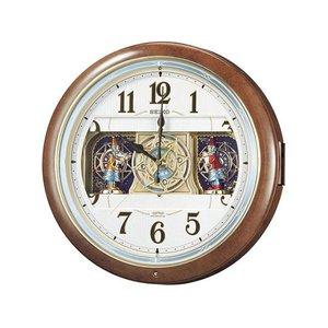 【超お買い得!】 セイコー SEIKO からくり時計 電波時計 掛け時計 RE559H【送料無料】, ジュエリー&ウォッチ ミムラ 5d2db5da