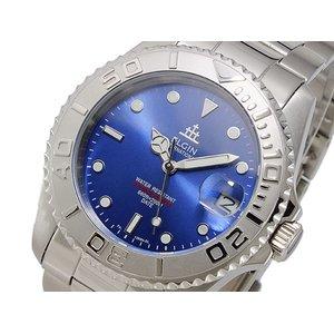 人気デザイナー エルジン ELGIN 自動巻 メンズ 200M防水 腕時計 時計 FK1389S-BL, 東京電気 9798e17a