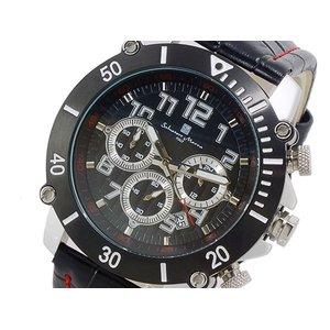 海外ブランド  サルバトーレ マーラ SALVATORE SALVATORE MARRA クロノグラフ 時計 腕時計 時計 MARRA SM13115-SSBKSV【ラッピング無料】, 3244:ffed21f2 --- extremeti.com