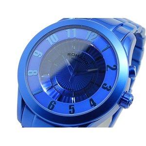 豪華で新しい ロマゴデザイン スーパーレジェーラ 腕時計 RM028-0287AL-BU ブルー【送料無料】, 田原市 e52ee6e4