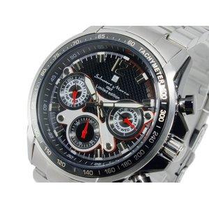 【待望★】 サルバトーレ マーラ SALVATORE MARRA クオーツ メンズ クオーツ 腕時計 GD-SM3000-SSBKBK マーラ【送料無料 メンズ】【送料無料】, mysta:b4fcf519 --- pyme.pe