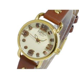 【数量限定】 サクスニーイザック SACSNY YSACCS 時計 SACSNY クオーツ レディース 腕時計 時計 レディース SYA-15110-BGBR【ラッピング無料】, エンベツチョウ:8c3d1f7d --- 5613dcaibao.eu.org