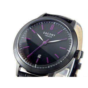【 新品 】 サクスニーイザック 腕時計 YSACCS SACSNY YSACCS 腕時計 時計 時計 SY-15061B-BK【ラッピング無料】, センナンシ:a8f162c1 --- iplounge.minibird.jp