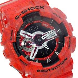 【使い勝手の良い】 カシオ CASIO G-SHOCK デジタル メンズ 腕時計 GA-110SL-4AJF レッド 国内正規【送料無料】, バッテリーストア.com 7f95783d