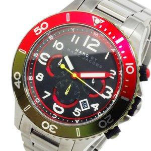 【2019正規激安】 マーク バイ 腕時計 マーク マーク バイ ジェイコブス メンズ クオーツ クロノ 腕時計 MBM5056【送料無料】【送料無料】【ラッピング無料】, マツマエチョウ:7c2b6a73 --- 5613dcaibao.eu.org