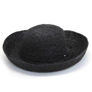 超人気の ヘレンカミンスキー ロンバーディ チャコール 夏の定番♪丸めて収納可能なラフィア製ローラブルハット レディス帽子 ≪2014SS≫ Lombardy Charcoal【送料無料】, Ocean北海道 ceceffd5