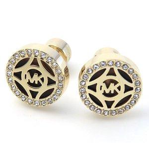 【あすつく】 マイケルコース カットアウト ロゴ MKJ4275710 Pave マイケルコース Logo Gold-Tone Open Stud Earrings パヴェ ロゴ カットアウト ディスク ピアス, シントクチョウ:15172d2d --- blog.buypower.ng