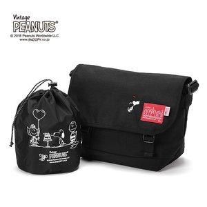 古典 【限定品】 Manhattan Portage×PEANUTS Casual Messenger Bag Lサイズ 日本正規品 メッセンジャーバッグ MP1606JRPEANUTS18【送料無料】, プレミアムギア fd9dbbf7