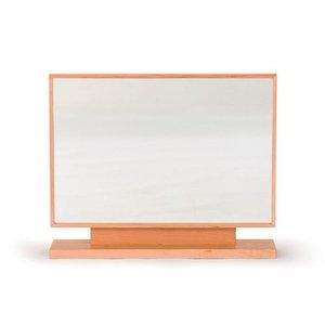 人気が高い  スタンドミラー 卓上鏡 卓上ミラー コンセント付き 60幅 日本製 完成品 木製 無垢 選べる素材 7素材 おしゃれ 角度調節可能 送料無料, 小坂町 4fdcec70