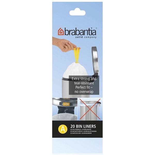 brabantia  ブラバンシア ペダルビン ゴミ袋 3L  A サイズ 20 枚入 3