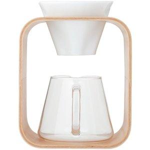 好評 iwaki イワキ コーヒーポット&ドリッパーセット Barafu K9966DS-M インテリア性の高いウッドフレームのドリッパーとポットのタイプ, ハンカチの店 夢遊布:31a0cbae --- abizad.eu.org