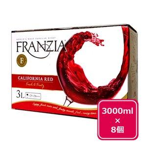 激安/新作 赤ワイン ボックス 8個セット フランジア ワインタップ ボックスワイン(赤)3000ml 3リットル 3L 送料無料 ギフト プレゼント(4973480320226), きもの屋三鈴 15235061