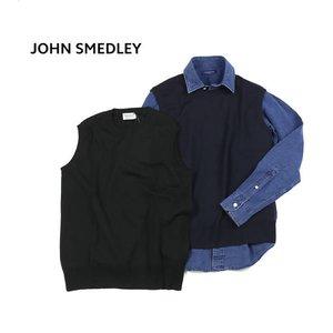 最安価格 JOHN SMEDLEY(ジョンスメドレー)メリノウール メンズ クルーネック ニットベスト・A4012-2851702【メンズ】【レディース】, Rats Design Room 83507a73