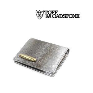 海外最新 TOFF&LOADSTONE(トフアンドロードストーン)メタリックミンク型押しレザー 二つ折り ミニ財布 メタリックミンクウォレット・TLA-369-1471802【レディース】, イチマル 4f135071