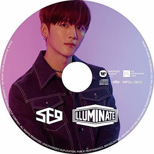 【CD】ILLUMINATE(YOUNG BIN:完全生産限定ピクチャーレーベル盤)/SF9(エスエフナイン)