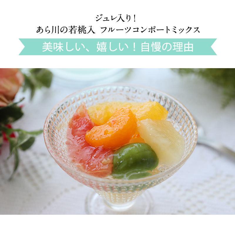 若桃、みかん、甘夏、グレープフルーツ、白桃、パイナップル入