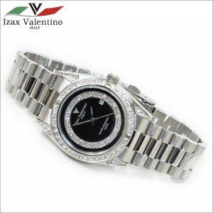 高価値 メンズ腕時計 ブラックカラー 10気圧防水 メンズ腕時計 10気圧防水 デイトカレンダー GTO アイザック・バレンチノ IVG-1000-6 ベゼルにクリスタルを配した高級感が漂う腕時計です。, 大川家具工房:35ebe336 --- blog.buypower.ng