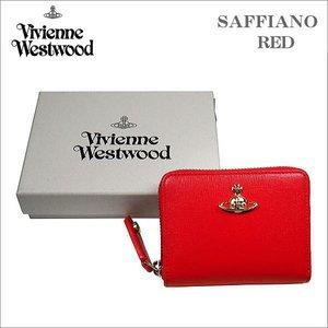【福袋セール】 ヴィヴィアン・ウェストウッド 小銭入れ財布 サフィアーノ レッド ゴールドオーヴ SAFFIANO RED No-10, Ys factory 830370a7